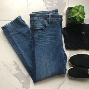 Talbots Slim Ankle Dark Wash Jeans